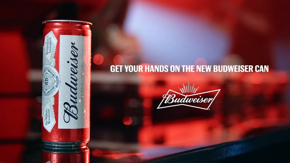 BUDWEISER 'Bud Sleek'