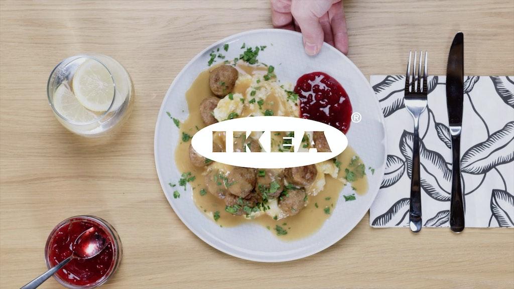 Uber Eats x IKEA - Meatball Delivery