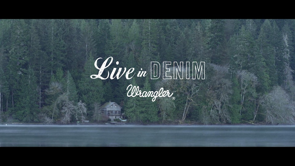 Wrangler - Live in Denim AW14