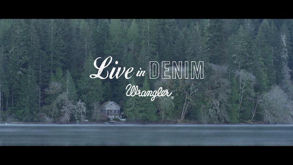 Wrangler - Live in Denim AW14