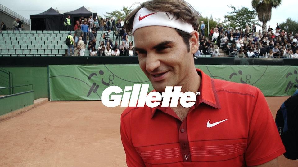 Gillette - 'Fusion' Roger Federer BTS