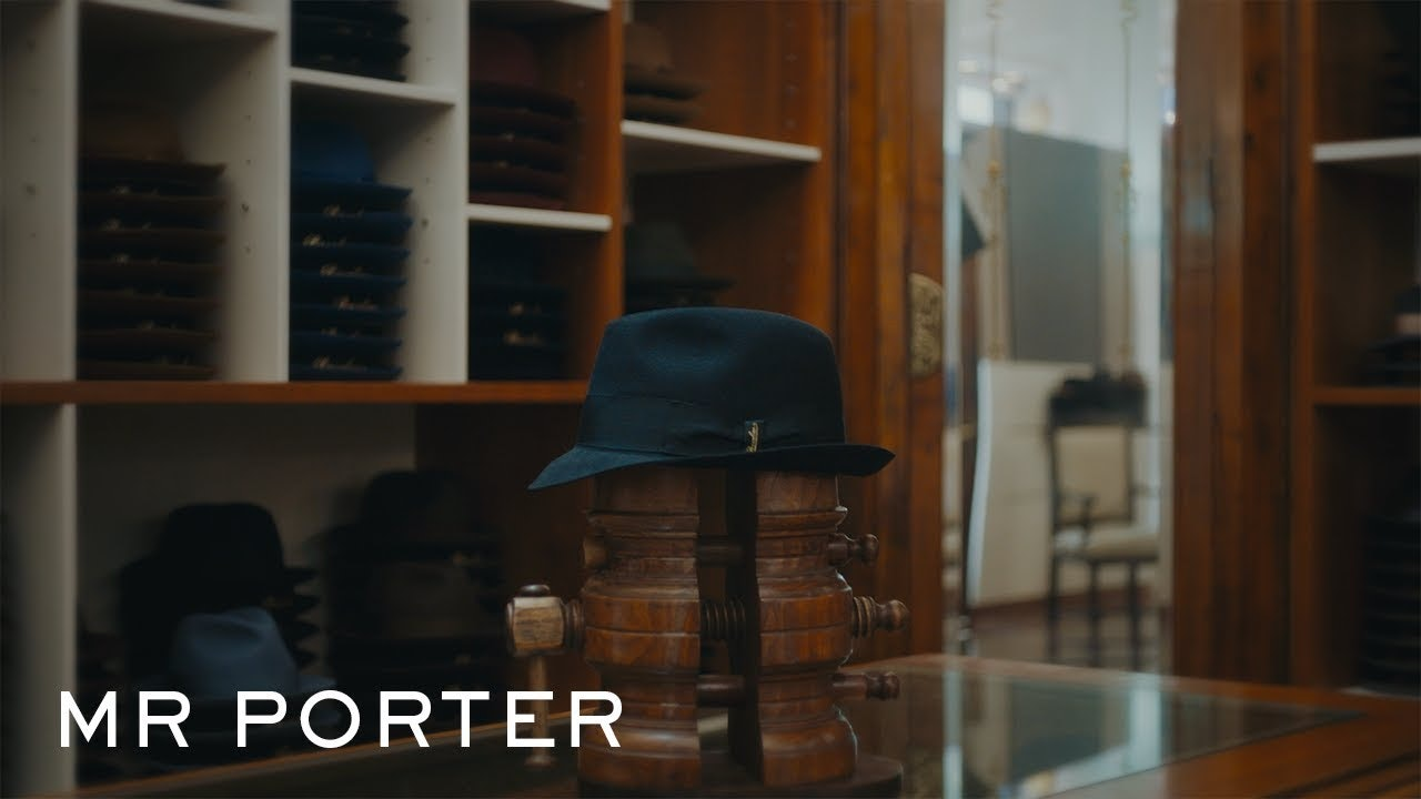 How Borsalino Makes A Men's Fedora Hat | MR PORTER