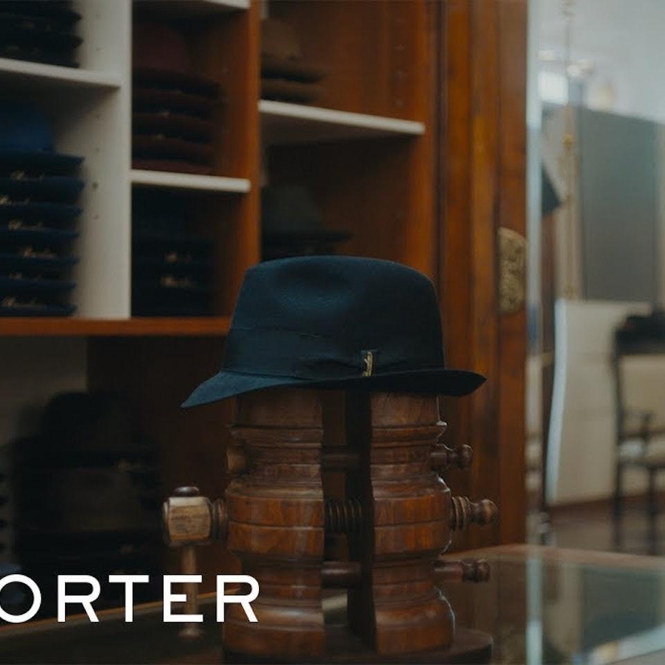 KYLE MACFADZEAN - How Borsalino Makes A Men's Fedora Hat | MR PORTER