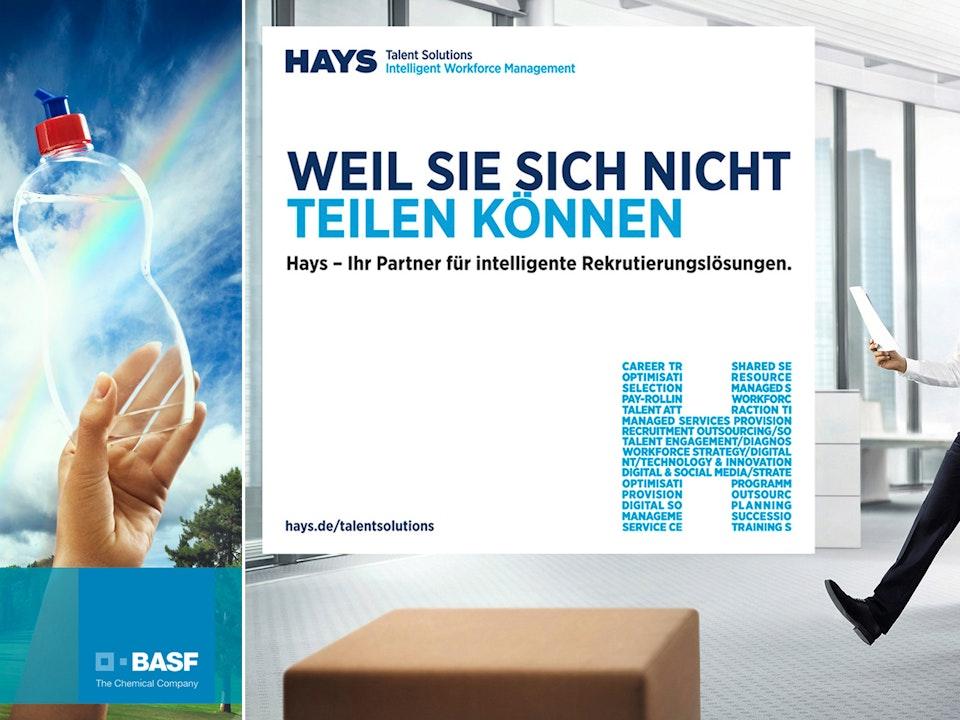 Ads - BASF & Hays AG  /  Photographer: Alex Becker  /  Agency: Venividi GmbH