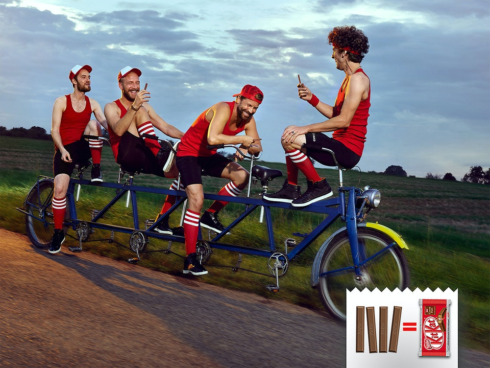 Ads - NESTLÉ KitKat  /  Photographer: Per Schorn  /  Agency: JWT Frankfurt