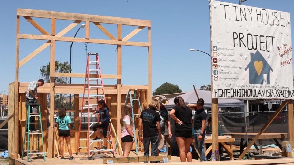 San Diego Teens Help Build Studios For Thriving Art Community | Documentary (3min)