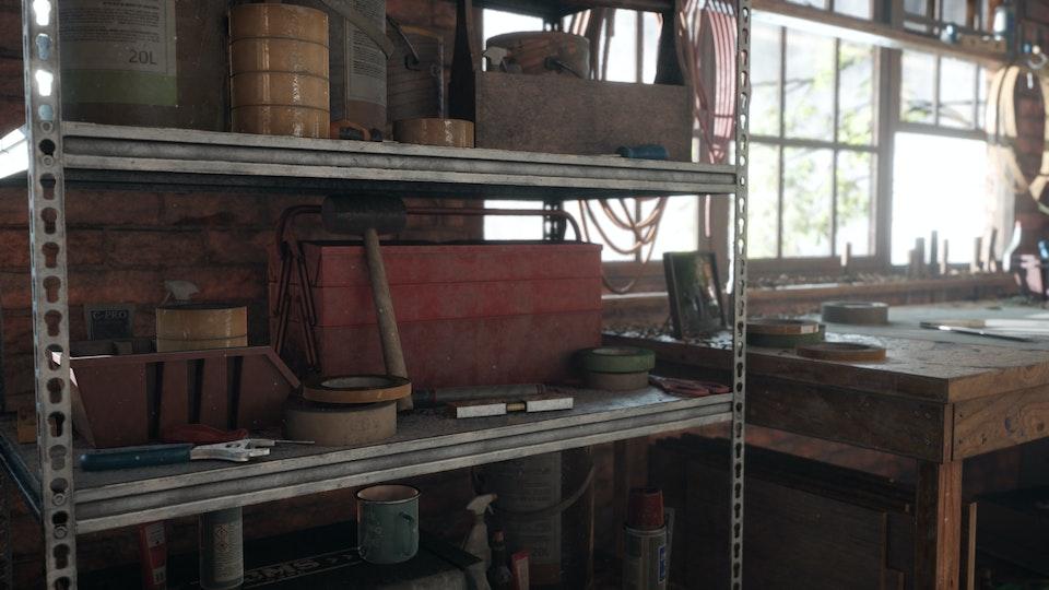 Carpenters Workshop Detail Shots