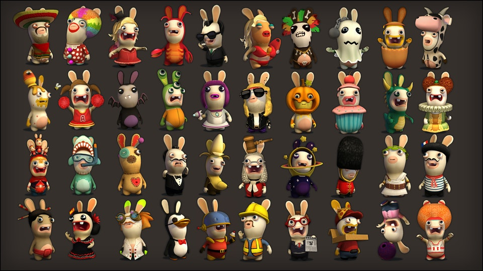 Rabbids Rumble - 3DS