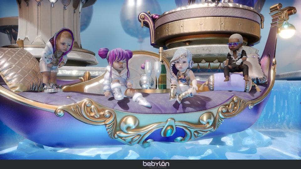 Bebylon Battle Royale - Heaven
