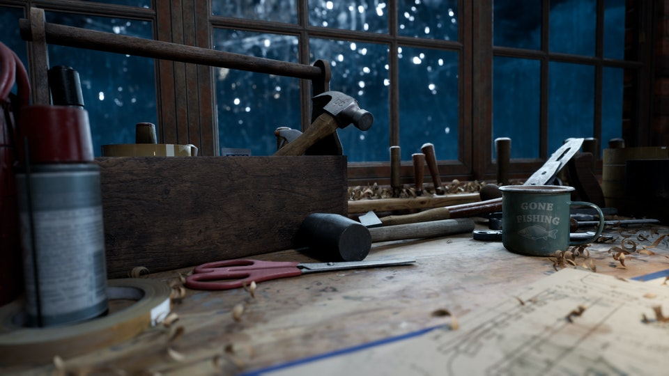 Carpenters Workshop Night