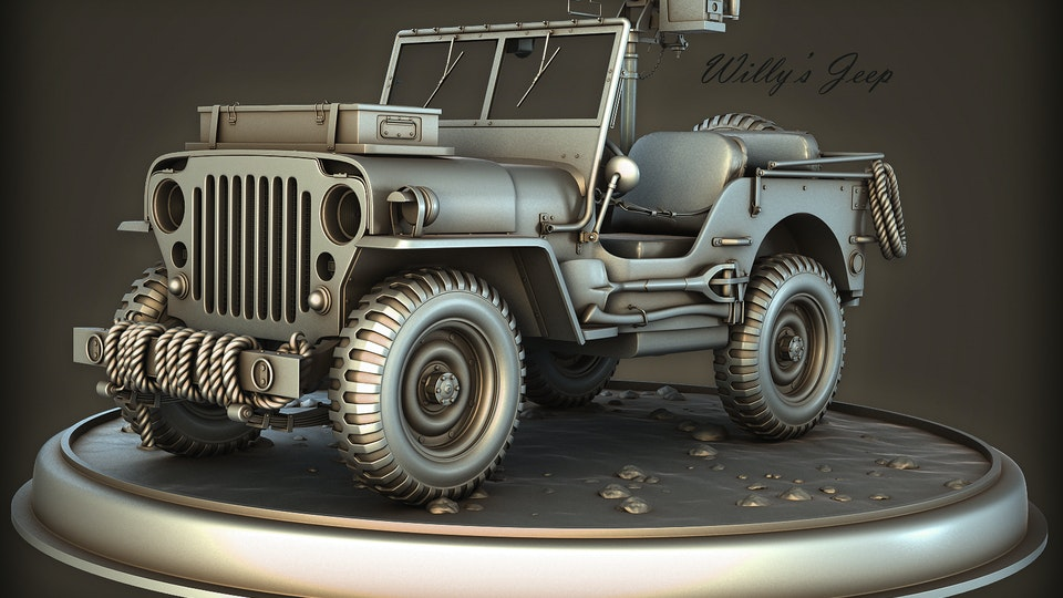 Hotchkiss Jeep