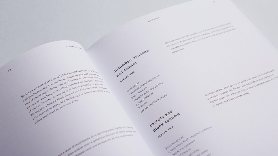 a simple table, yellowkite — creative direction, recipes and words
