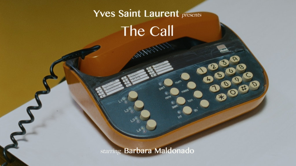 Yves Saint Laurent - The Call