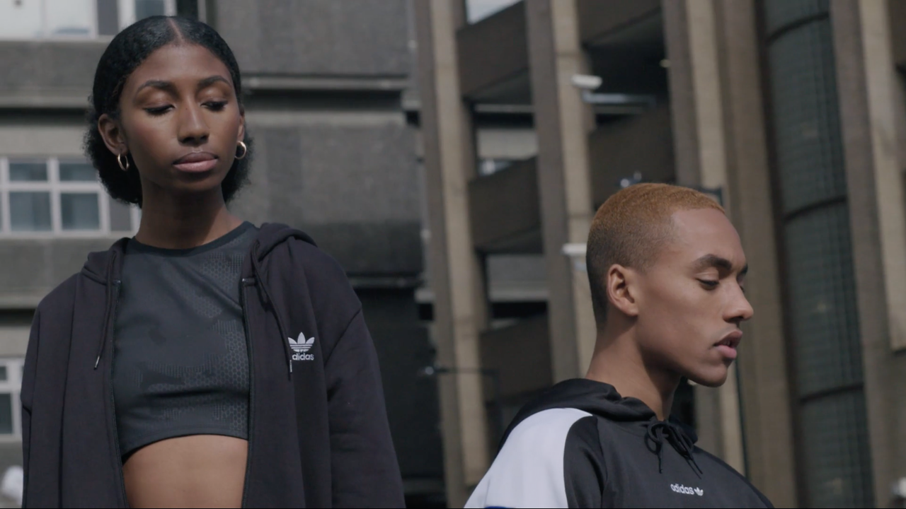 Adidas London BTS
