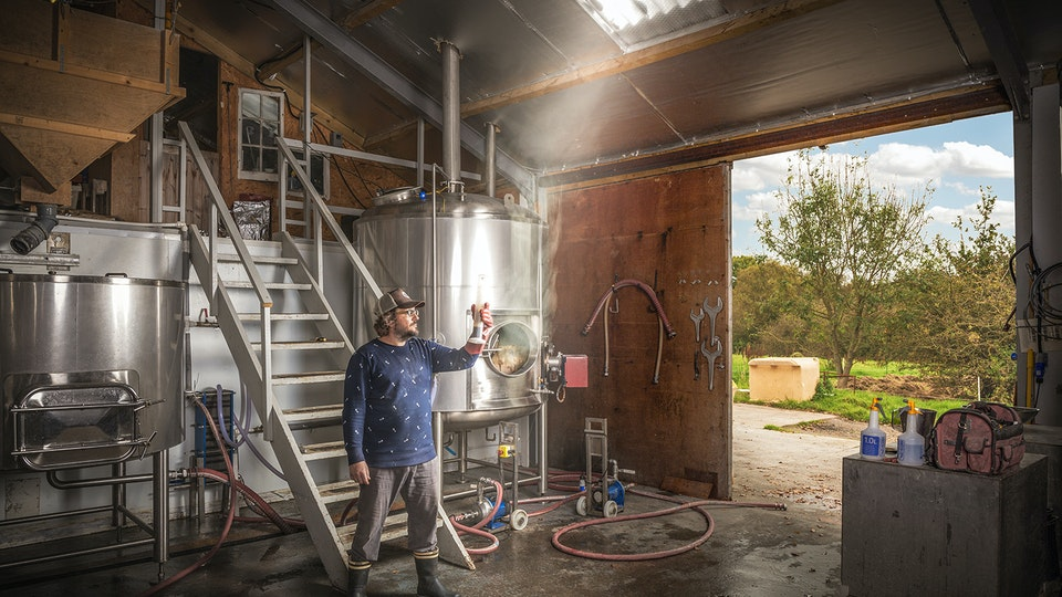 Toby Smallpiece: Craft beer, water dowsing and small steps to greatness