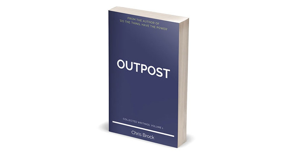 "Books - <strong>Outpost</strong>  A collection of writings from my blog, <a href=""http://mybook.to/outpost"" target=""_blank"">Outpost</a> is a meditation on life, purpose, and what it is to be alive.  From finding our own space to simply be, to engaging with the dance of the cosmos, Outpost asks us to question why we're here and what it's all for. And in doing so it's not searching for an answer, but encouraging us to play with the question."