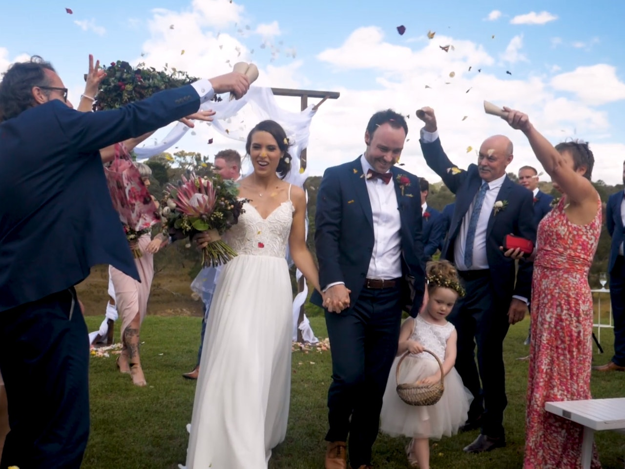 Milly + Brendan - A few clips from my cousin's wedding day