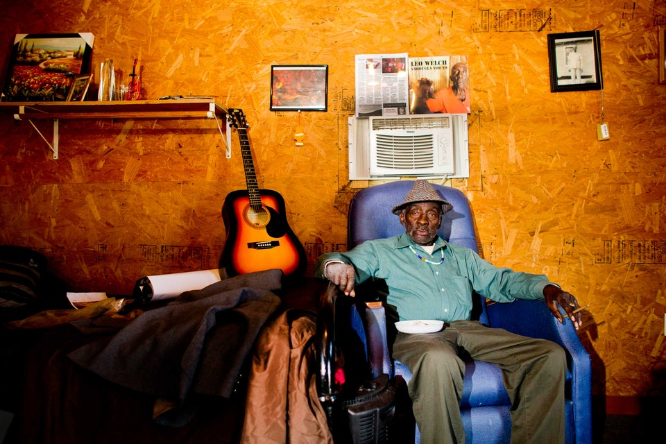 "83-Year-Old Mississippi Bluesman Leo ""Bud"" Welch"
