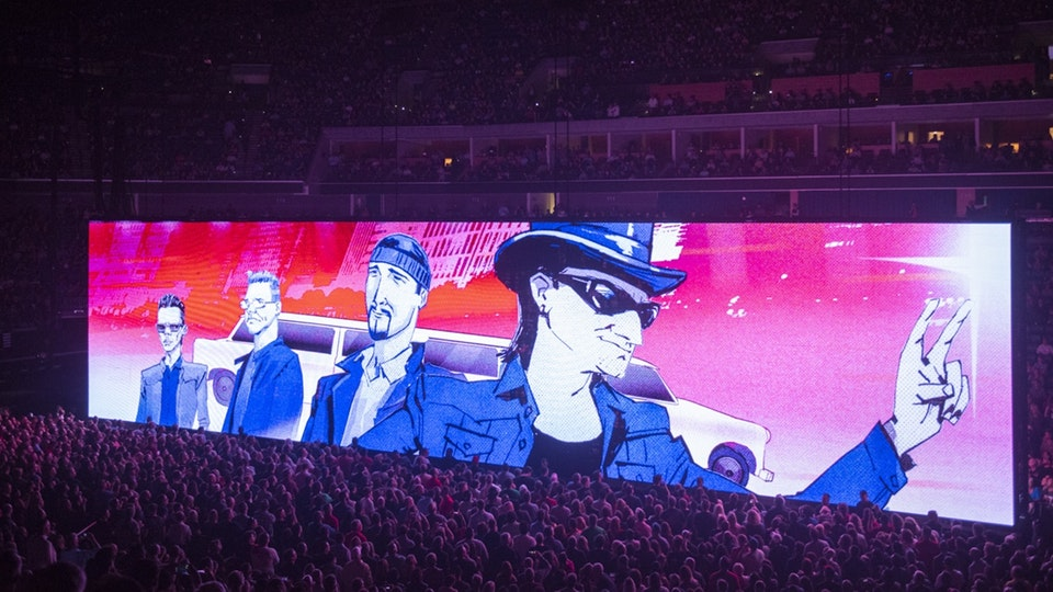 U2 - 2018 World Tour Live Visuals