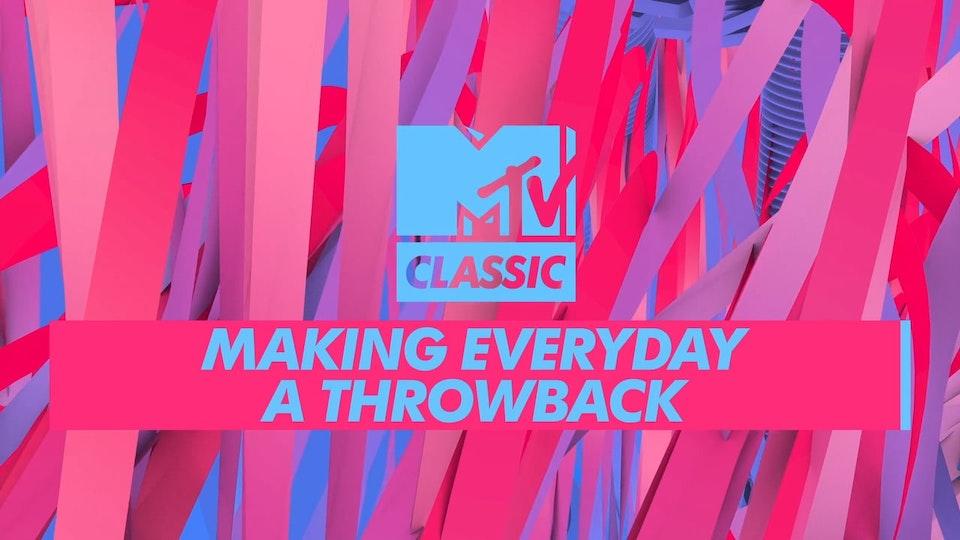 MTV CLASSIC REBRAND PROMO