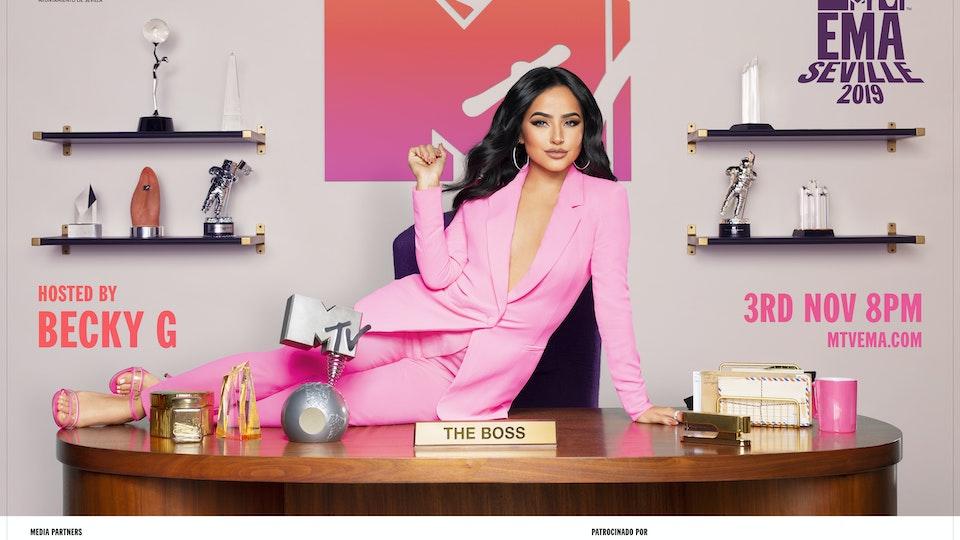 MTV EMA 2019 - Becky G