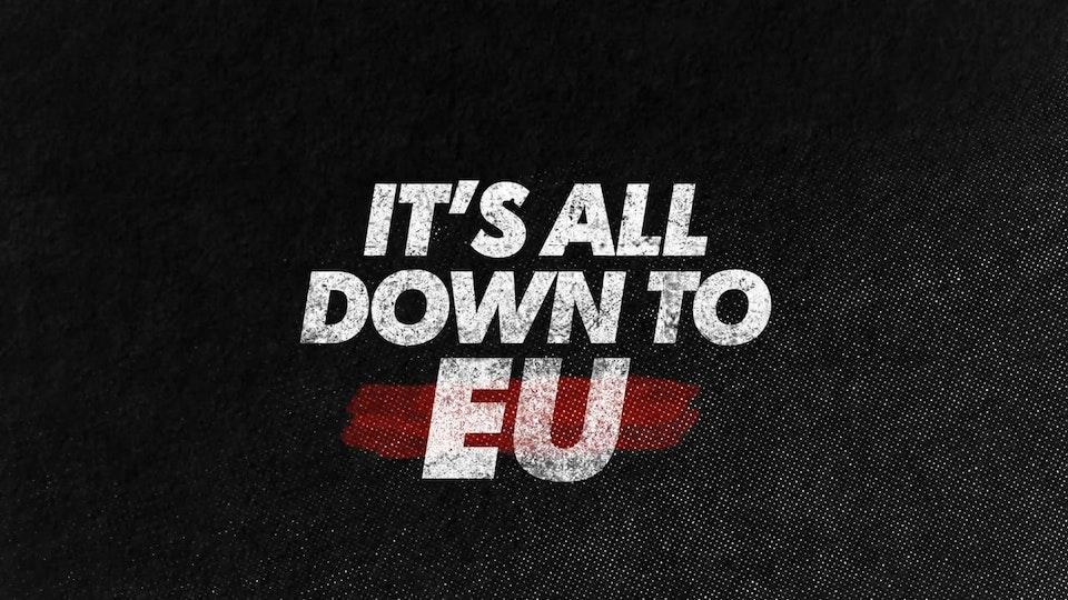 MTV EU Referendum PSA - It's All Down To EU