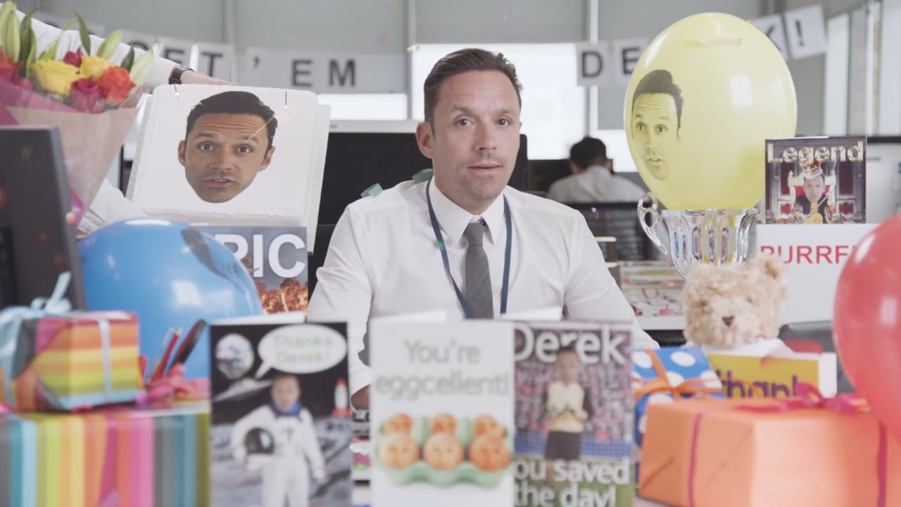 Barclays 'Meet Derek'