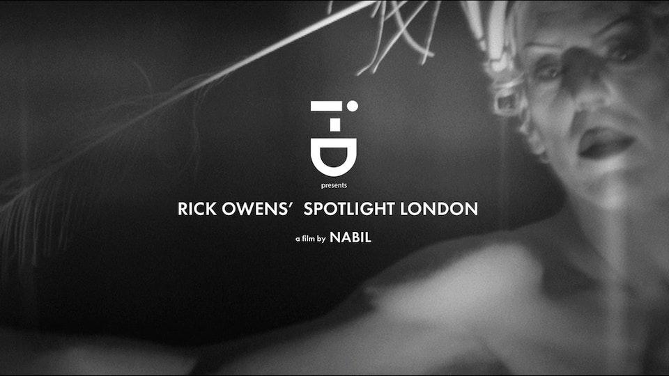 Rick Owens  X i-D Magazine | Dir. Nabil