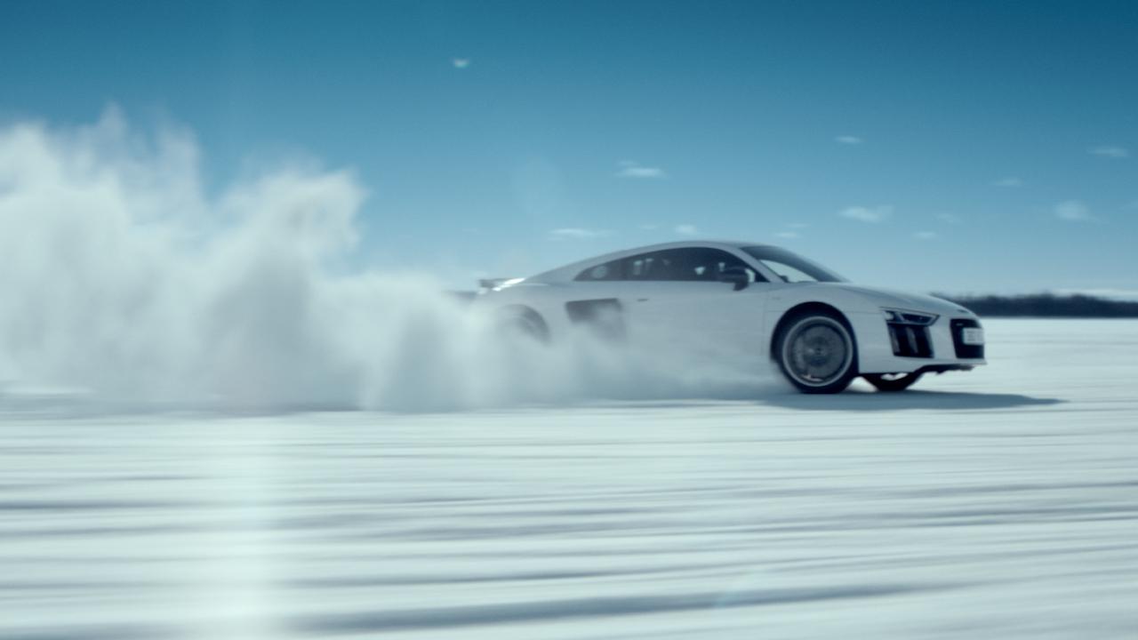 Audi R8 'Snow'