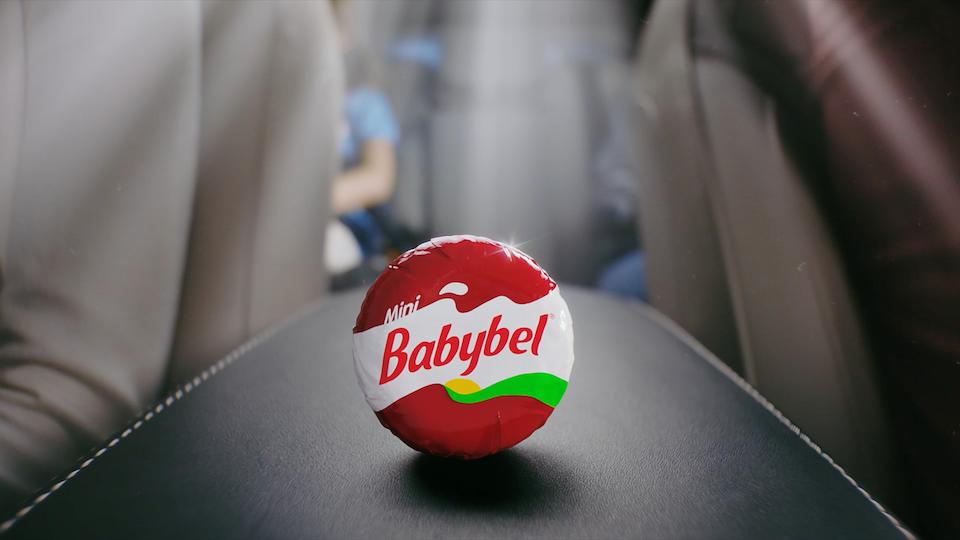 """Babybel """"Saved it"""""""