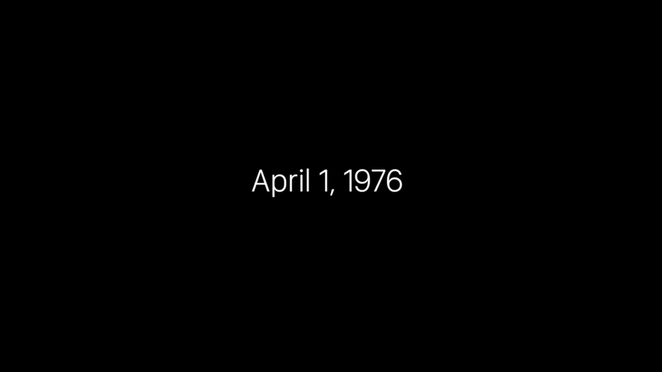 Apple - 40 Years in 40 Seconds