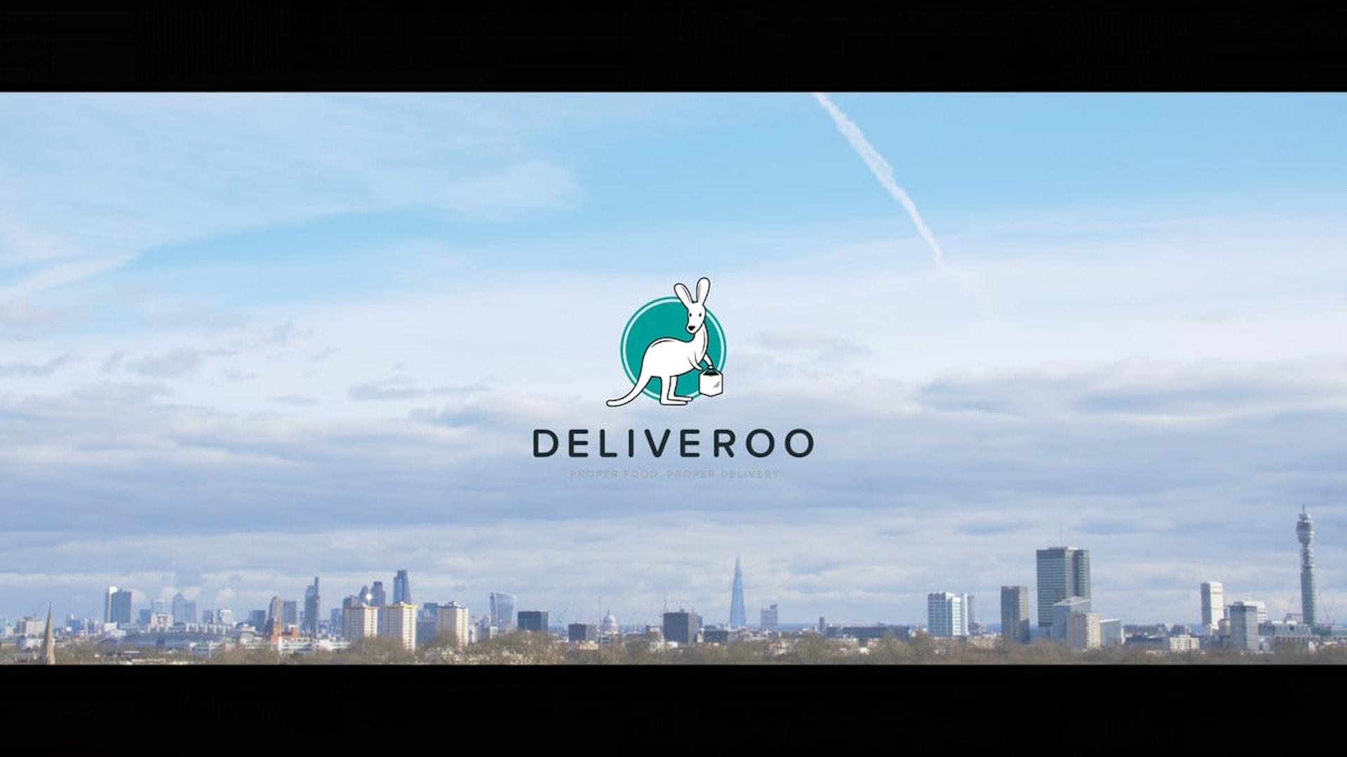 LSK   DELIVEROO - Rider Ad 2016