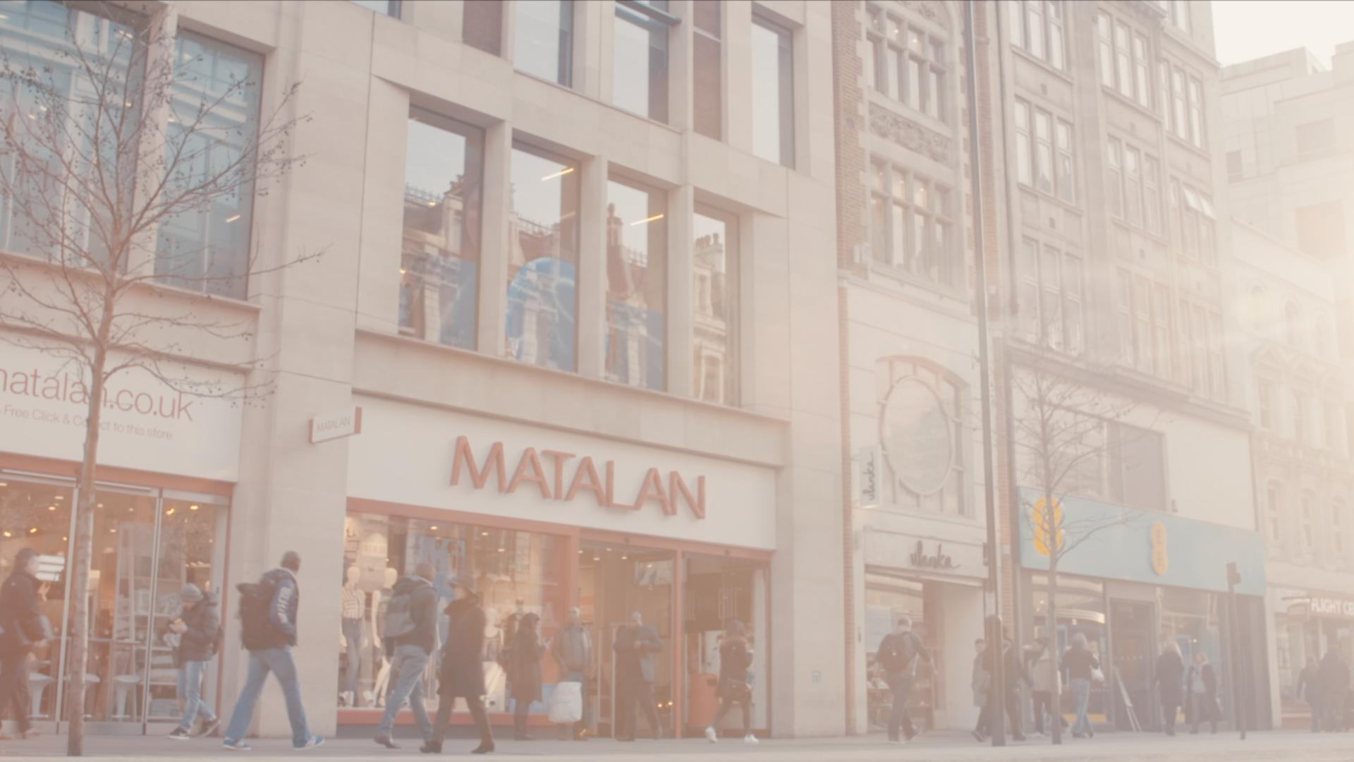 Matalan - Oxford street launch event