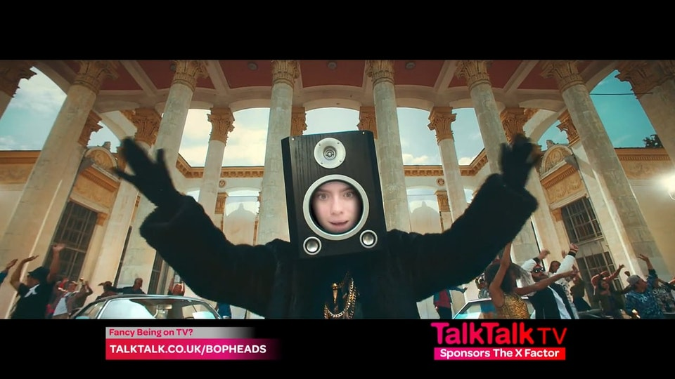 TalkTalk - X Factor BopHeads