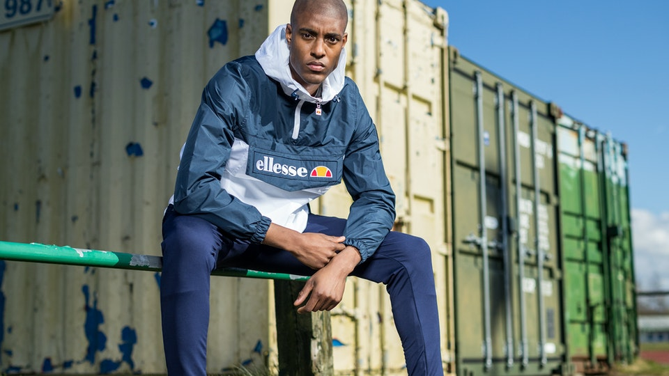 Ellesse Campaign for UCC with Stefan Tomlin