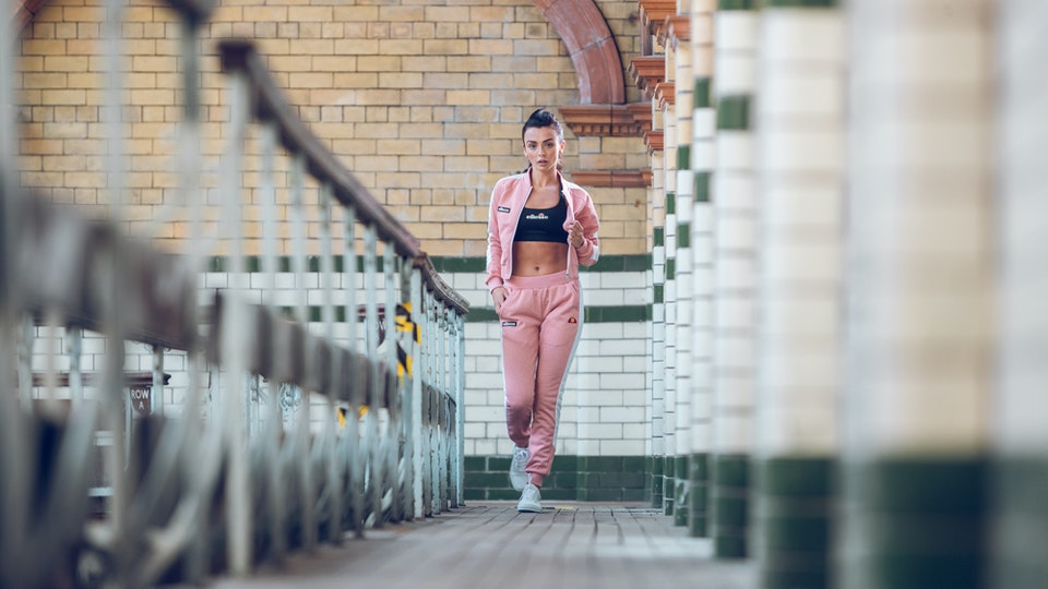 Ellesse Ladies Campaign for UCC - with Kady McDermott