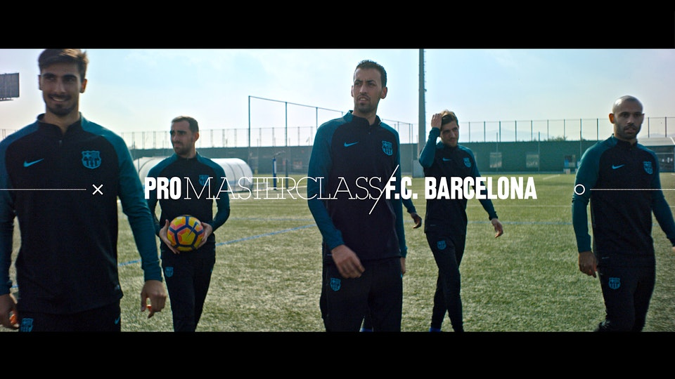 Nike  -  FC Barcelona  Pro Masterclass