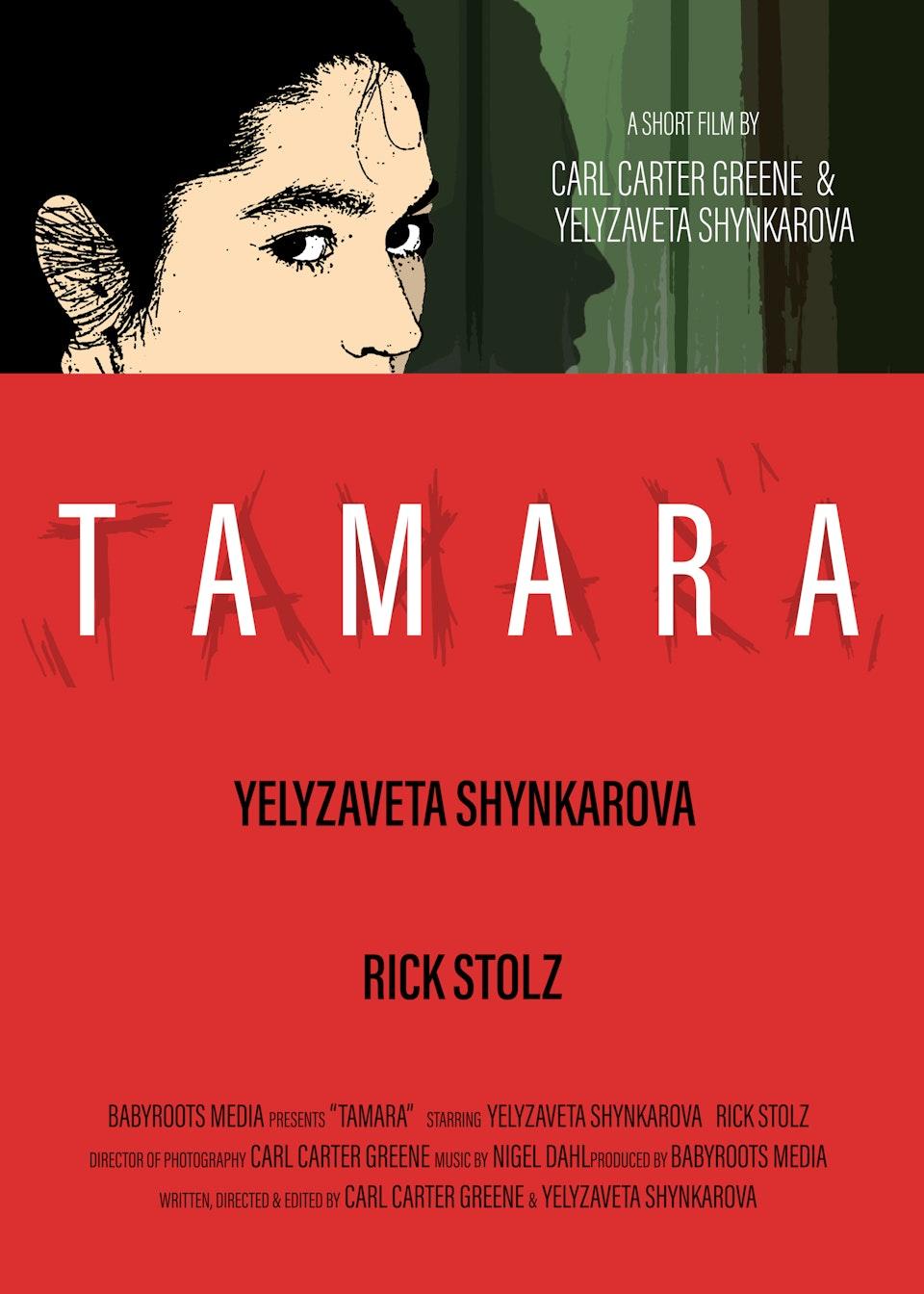 TAMARA FINAL POP POSITION 1 BOX ART - Official poster designed by Jordan Bouma