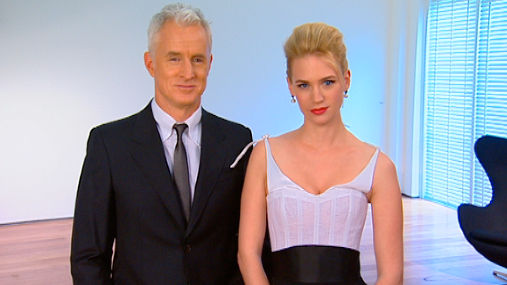 January Jones & John Slattery 'Madmen'