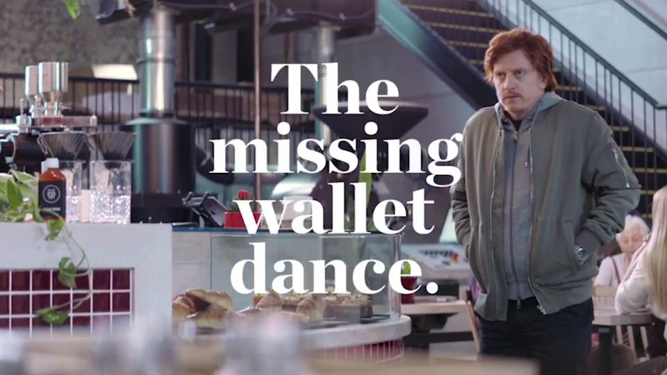 Westpac 'The missing wallet dance'