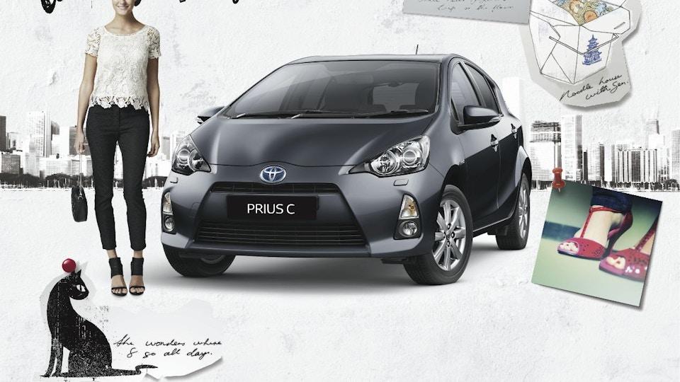 Toyota - PRIUS C