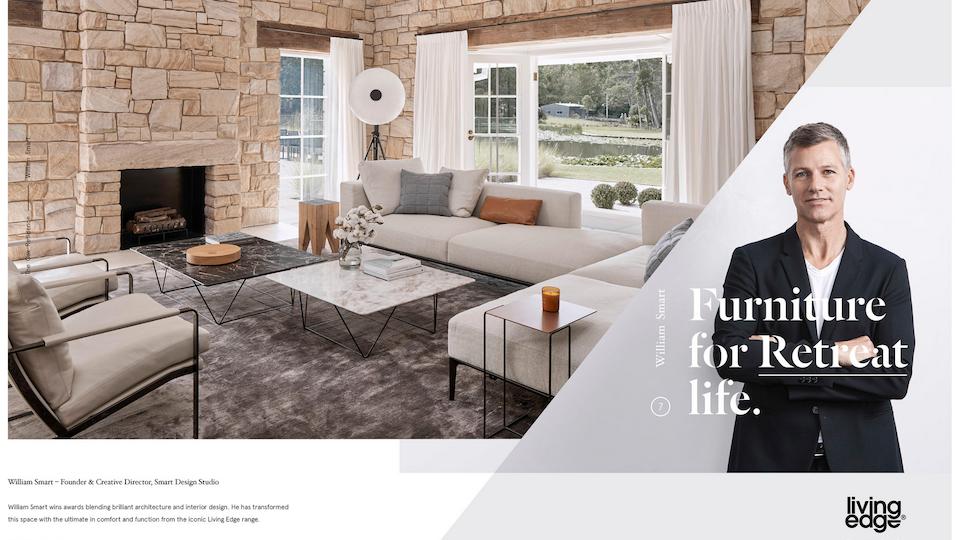 Living Edge 'Furniture for Retreat Life'
