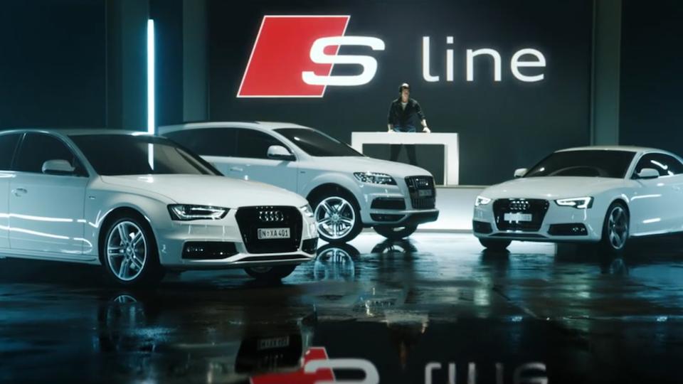 Audi 'S line'