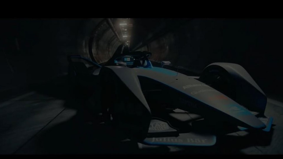 Making of Formula E Commercial