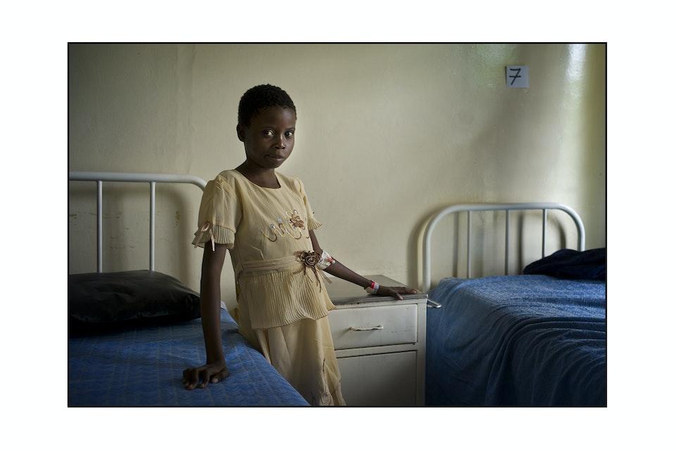 Theresa Kitwe Eye Hospital Orbis Zambia -