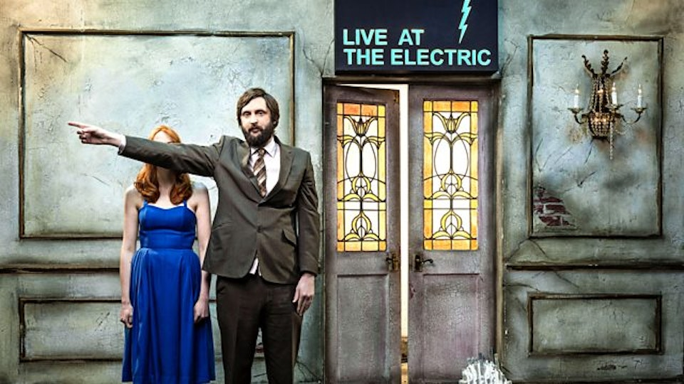 BBC COMEDY - LIVE AT THE ELECTRIC - SERIES 1 & 2