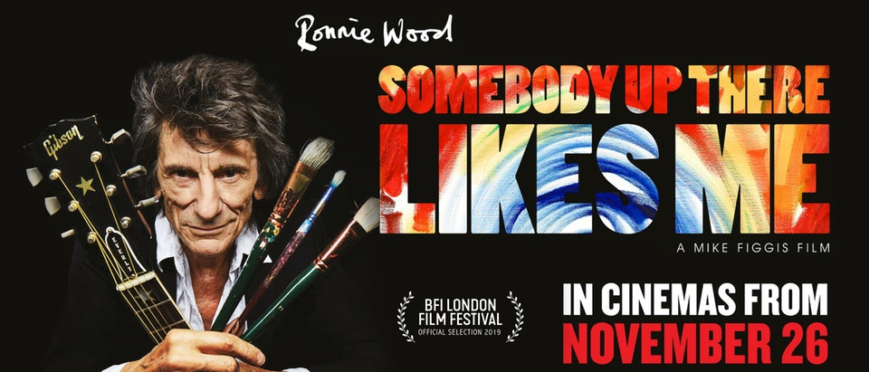 RONNIE WOOD 'SOMEBODY UP THERE LIKES ME' - DIRECTED BY MIKE FIGGIS