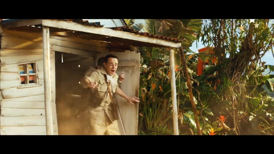 I'm a Celeb - Mike Baldwin - ITV