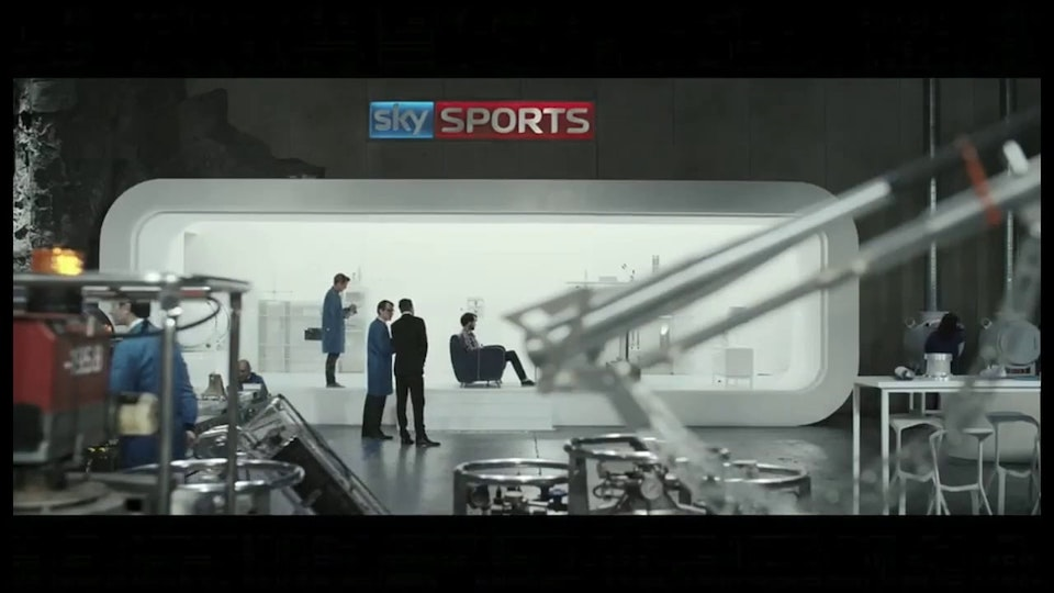 Sky Sports - Ivan Bird - Rattling Stick