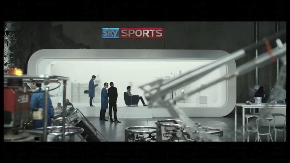 Sky Sports - Ivan Bird - Rattling Stick